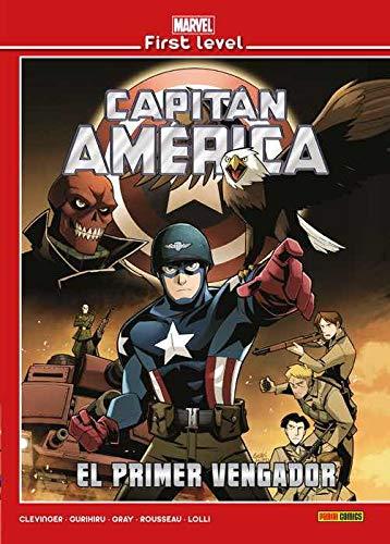 Marvel First Level 07. Capitan America: El Primer Vengador