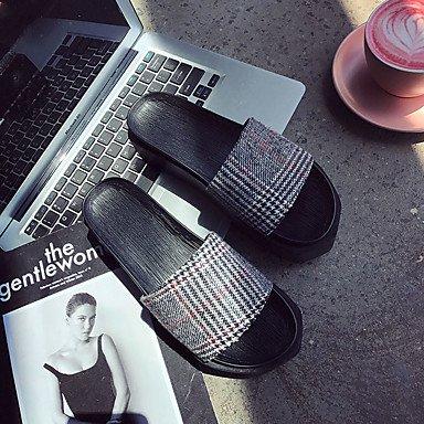 LQXZM Women's Sandals Spring Summer Comfort PU Dress Casual Flat