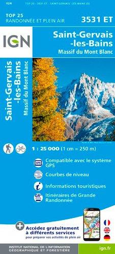 3531ET ST GERVAIS-MASSIF DU MT BLANC