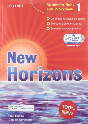 New horizons. Starter-Student's book-Workbook-Homework book-My digital book. Per le Scuole superiori. Con espansione online: 1