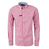 Tommy Hilfiger Custom-Fit Camisetas (L, Rojo)