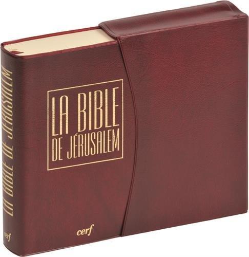 La Bible de Jérusalem [Format: Poche vinyle bordeaux ] par Ecole biblique de Jérusalem
