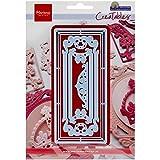 Marianne Design MARLR0318 Creatable Petra's Rectangle Cutting Die Métal, Bleu, 16,2 x 11,4 x 0,5 cm