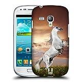 Head Case Designs Pferd Tierwelt Snap-on Schutzhülle Back Case für Samsung Galaxy S3 III mini I8190