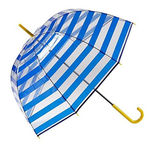 GOTTA Paraguas Transparente Largo Mujer Forma cúpula