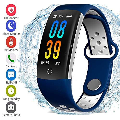 feifuns Activity Tracker HR Aktivität, Smart Armband für Frauen, Männer, Kinder