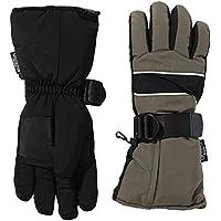 Ultrasport Thermal Glove Basic Guantes calefactores, Unisex Adulto, Negro/Verde, M
