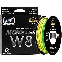 SeaKnight | Monster W8 | Línea de Pesca Trenzada | 8 Cables 30 LB | 0.23 mm | 500 MT