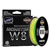SeaKnight | Monster W8 | Línea de Pesca Trenzada | 8 Cables 50 LB | 0.32 mm | 500 MT