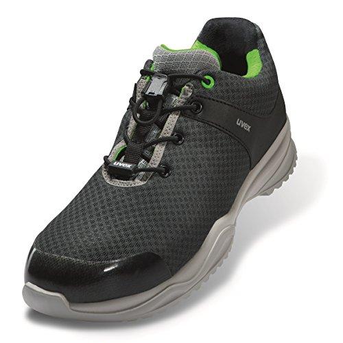 Uvex SPORTSLINE Sicherheitsschuh Arbeitsschuh S1P ESD ACE-Edition extra leichter & metallfreier Halbschuh Unisex inkl. kostenlosen Schuhbeutel