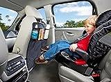 Yacool® Coup Mats - Luxury Car Seat Retour Protecteurs Pack 2, Perfect Backseat Organisateur et housses pour sièges de voitures, SUV, Auto et de sécurité pour enfants Accessoires de sécurité