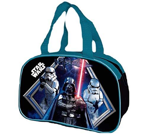 9943, Pack Star Wars, Compuesto por portameriendas Escolar Star Wars; portatodo Plano Star Wars con utiles Escolares; Diario con boligrafo Star Wars