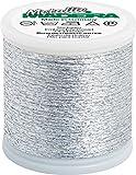 Madeira Garne 50m Metallic No. 20 - Farbe: 2042 - Silber - (Lager: Hi-li-Rö-BO)