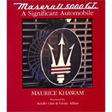 Maserati 5000gt A Significant Automobile