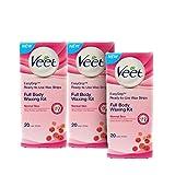 #10: Veet Full Body Waxing Kit for Normal Skin - 20 Strips (Buy 2 Get 1 Free)