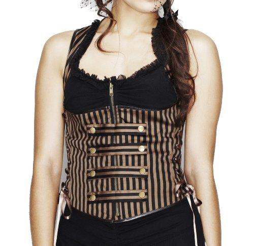 Giselle Corset Top Spin Doctor XL-Regno Unito 14-16/EU 42-44