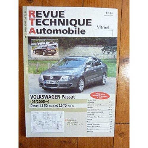 Rta-revue Techniques Automobiles - Passat 05- Revue Technique Volkswagen
