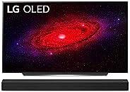 LG OLED55CX9LA 139 cm (55 Zoll) OLED Fernseher (4K, Dual Triple Tuner (DVB-T2/T,-C,-S2/S), Dolby Vision, Dolby