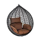 Polyrattan Luxus Hängesessel – Home Deluxe – Cielo*