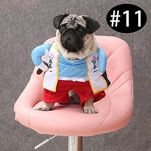 Urijk Haustier Kostüm für Hunde und Katzen Halloween Kostüm Kleidung Haustier Kleidung Dress Up Pet Puppy Dog Cat Pet Clothes
