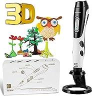 GIANTARM stylo d'impression 3D professionnel stylo 3D + filament PLA 12 couleurs, température/vitesse régl