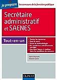 Secrétaire administratif et SAENES - Tout-en-un (Concours fonction publique) (French Edition)