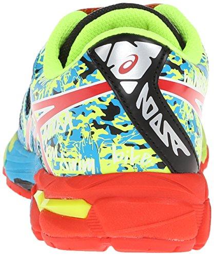 Asics Gel-Noosa Tri 10 GS Maschenweite Laufschuh Black/Red Pepper/Flash/Yellow