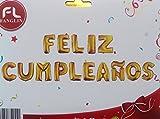 Globos de foil de aluminio,feliz cumpleaños,15 pcs,HC Enterprise