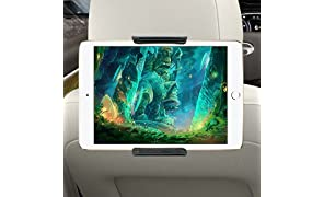 """Supporto Tablet Auto Poggiatesta, Regolabili e 360 Gradi di Rotazione Porta Tablet Auto Sedili Posteriori, Supporto per Tablet Universale 7"""" a 10"""""""