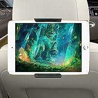 Autohalterung Tablet, Tablet Halter Kfz Kopfstützenhalterung Tablet Kopfstützenhalter Einstellbare Rücksitz Kopfstützen Halterung für 6-11 Zoll Tablets