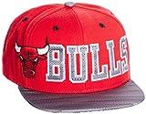 adidas Herren Bulls Kappe, Red/Black/White, OSFM