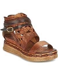 774f66a7b756 Airstep   A.S.98 Lagos Sandalen Sandaletten Damen Braun Sandalen Sandaletten