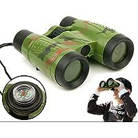 Mioloe Kids Pocket Prismáticos Compactos Regalo para Niños para Observación de Aves Hunting Safari Sports Travel Concerts