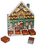 Unbekannt Weihnachtskalender - LEER - Weihnachtshaus mit 24 Boxen / Schachteln zum Befül..