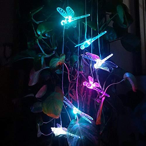 kitabetty Solar Windspiele, Farbwechsel LED Solar Windspiel Indoor Outdoor LED Hängelampe Windspiel Licht Für Garten/Party Dekoration