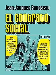 El contrato social: el manga par Jean-Jacques Rousseau