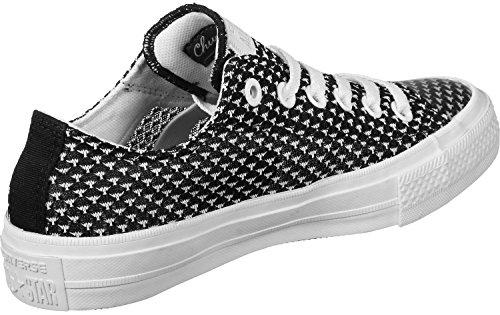 Converse, Chuck CTAS OX Sneaker Black White Schwarz
