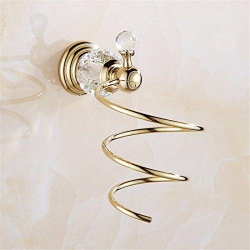Im europäischen Stil Weihnachten aus rostfreiem Stahl, Sockel aus Kristall von Gold, alle Pendentif, Single und Double Door Bar Zahnbürste, Gebläserahmen Badezimmer (Load Bar Single)