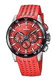 Festina Herren Chronograph Quarz Uhr mit Silikon Armband F20353/C