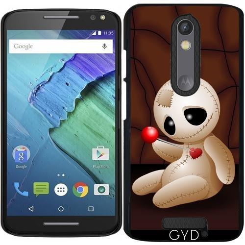 Hülle für Motorola Moto X (3 generation) - Voodoo-Puppe Karikatur In Der Liebe by - Halloween Rituali X