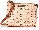 Bulaggi Damen Chayenne Crossover Umhängetasche, Pink (Pfirsich), 6x18x22 cm