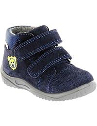 Richter Kinder Lauflerner blau Sympatex Velour Jungen-Schuhe 0436-441-7201  Atlantic Mogli d4726e29bd