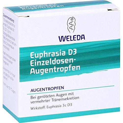 Weleda Euphrasia D3 Einzeldosen-Augentropfen, 20x0,4 ml Lösung