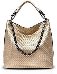 fb2c5ce881 NICOLE DORIS 2017 New Women Diamond Lattice Handbags Shoulder Bag Crossbody  Chain Bag Satchel for Lady PU