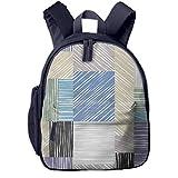 Kinderrucksack Quadratische Kastenformen, Schulrucksack für Mädchen und Jungen Schultasche Schulranzen Teenager Backpack Daypack Freizeitrucksack Kinder Rucksack