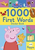 Peppa Pig: 1000 First Words Sticker Book