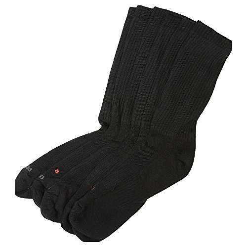 NIKE 3PPK Dri-Fit Cushion Crew Socken, Schwarz, M
