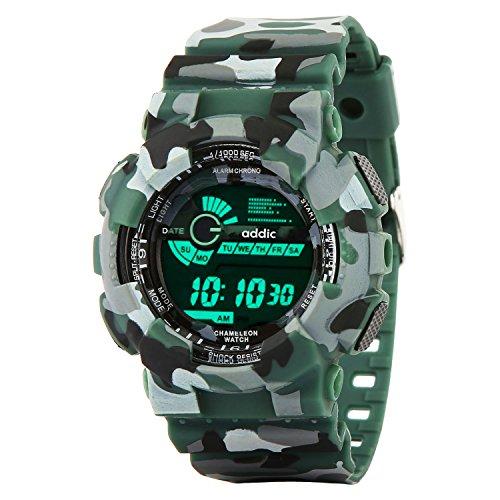 Addic Digital Multicolor Dial Men's Watch