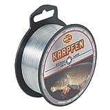 WFT Zielfisch Karpfen 400m grau - Angelschnur zum Karpfenangeln, Monofile Karpfenschnur, Monoschnur, Monofilschnur, Durchmesser/Tragkraft:0.30mm/8kg Tragkraft