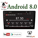 """Android 8.0 for Universal 9"""" Double din car Stereo with Navigation Head Unit"""